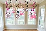 Sweet Safari Girl Baby Shower Decorative Swirls, Health Care Stuffs