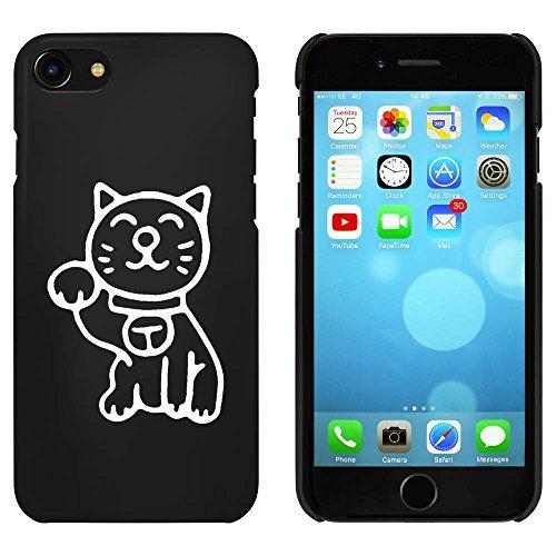 Noir 'Chat Chanceux' étui / housse pour iPhone 7 (MC00082865)