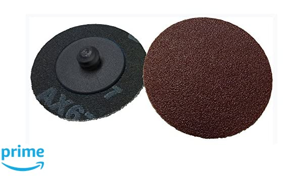 Griton QA320150 2 Quick Change Sanding Disc Pack of 50 150 Grit Black Industrial Grade