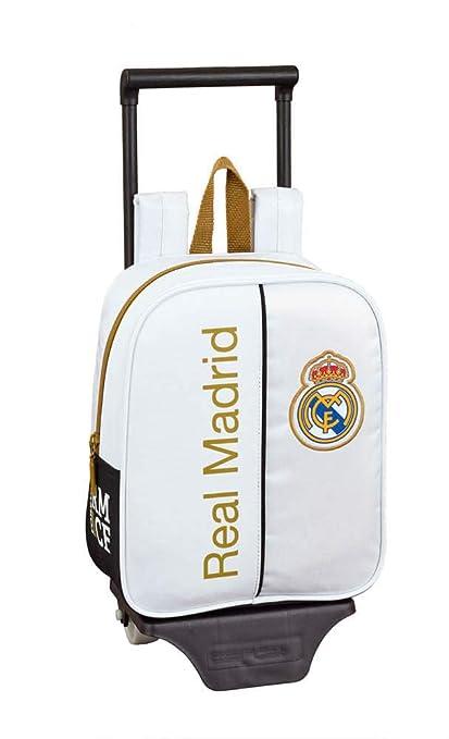 Real Madrid CF Mochila guardería Ruedas, Carro, Trolley