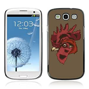 YOYOSHOP [Cool Rooster Illustration] Samsung Galaxy S3 Case