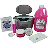 GEMORO 1791 SPARKLE SPA PRO SLATE GRAY ULTRASONIC LUXURY JEWELRY CLEANING KIT Includes Sparkle Bright All-Natural Jewelry Cleaner Products