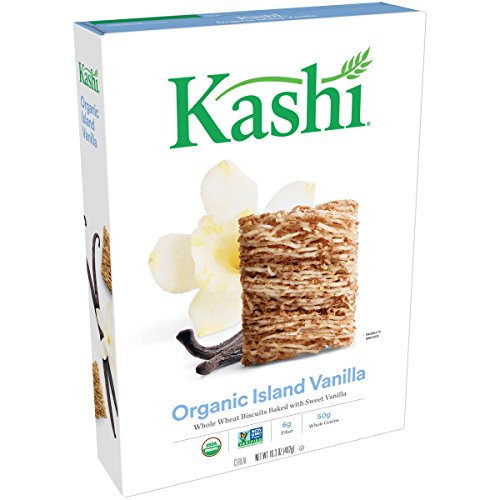 Discount Box Retail (Kashi Organic Cereal, Island Vanilla, 16.3-Ounce Boxes (Pack of 4))