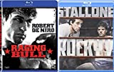 Boxing 2-Movie Bundle Raging Bull & Rocky V Blu-ray Set