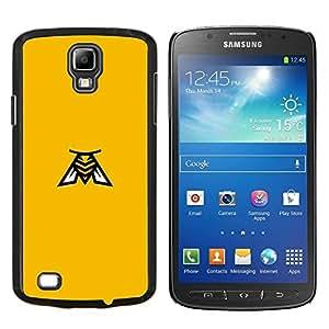 EJOOY---Cubierta de la caja de protección para la piel dura ** Samsung Galaxy S4 Active i9295 ** --Abeja amarilla