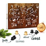 Calendrier de l'Avent Capsules compatibles Nespresso