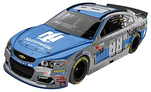 Lionel Racing Dale Earnhardt Jr #88 Nationwide 2017 Chevrolet SS 1:24 Scale Raw Finish Arc Hoto Diecast Car