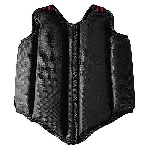 Topuality Boxing Chest Protector Chest Guard Shield Armor Protection Gear for Kids/Adults Martial Arts Muay Thai…