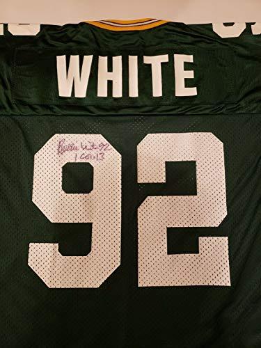 (Reggie White Autographed Signed Jersey Green Bay Packers Memorabilia JSA)
