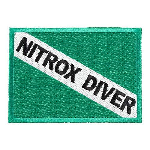 Nitrox Diver Flag Patch, Scuba Diving Patches