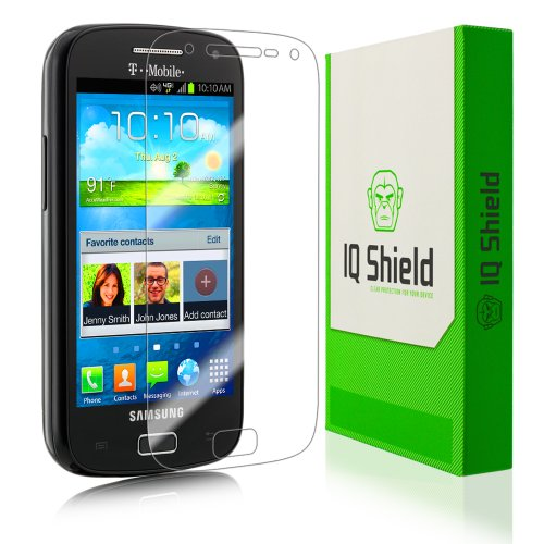 IQ Shield LIQuidSkin - Samsung Galaxy S Relay 4G Screen Protector - High Definition (HD) Ultra Clear Phone Smart Film - Premium Protective Screen Guard - Extremely Smooth / Self-Healing / Bubble-Free Shield - Kit comes with Retail Packaging and 100% Lifetime Replacement Warranty