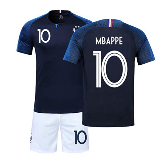 2018 New France World Cup MBAPPE Kid s Soccer Jersey  Amazon.ca ... ca32ac255