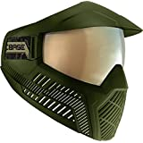 BASE Paintball Goggles/Masks with Built-In Visor