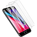 [3 Pack] LK for iPhone 8 / iPhone 7 / iPhone 6 Screen Protector, [Tempered Glass] with Lifetime Replacement Warranty