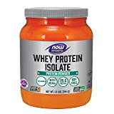 NOW Sports Whey Protein Isolate Unflavored Powder,1.2-Pounds Review