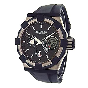 Concord C1 Retrograde automatic-self-wind mens Watch 01.5.40.1020 (Certified Pre-owned)