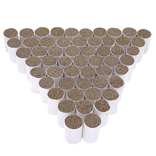 Easydeal 54pcs Solid Fuel Chinese Medicine Herb Smoker Bee Hive Smog Beekeeping Tool
