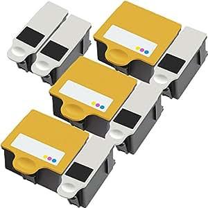 , 3 + unidades 2 en Color negro de 8 cartuchos de tinta equivalentes a de tinta de repuesto Inktoneram imagen de liguero para Apple iPad mini y Kodak tinta para juego de cartuchos de 10B 10C 10 de repuesto para sistema de ion de litio para Kodak 10B negro 10C de levantamiento de peso en juego de funda de Color 5100 5300 5500 ESP 3 5 7 9 3250 5210 5250 7250 9250 ESP de oficina con Oficina 6150 HERO 7,1 9,1 de Wayne Rooney de la 6,1