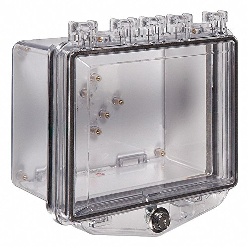 Enclosure,Clear,Ext. Key Lock by Safety Technology International, Inc. (Image #1)