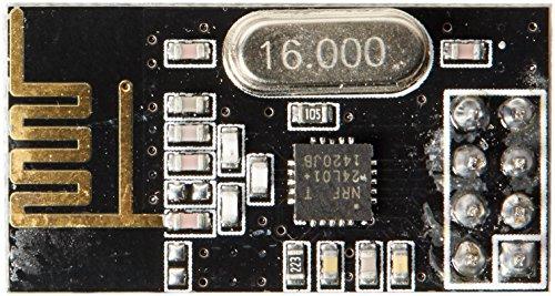 2pcs nRF24L01+ 2.4GHz Wireless Transceiver in Antistatic Foam Arduino Compatible