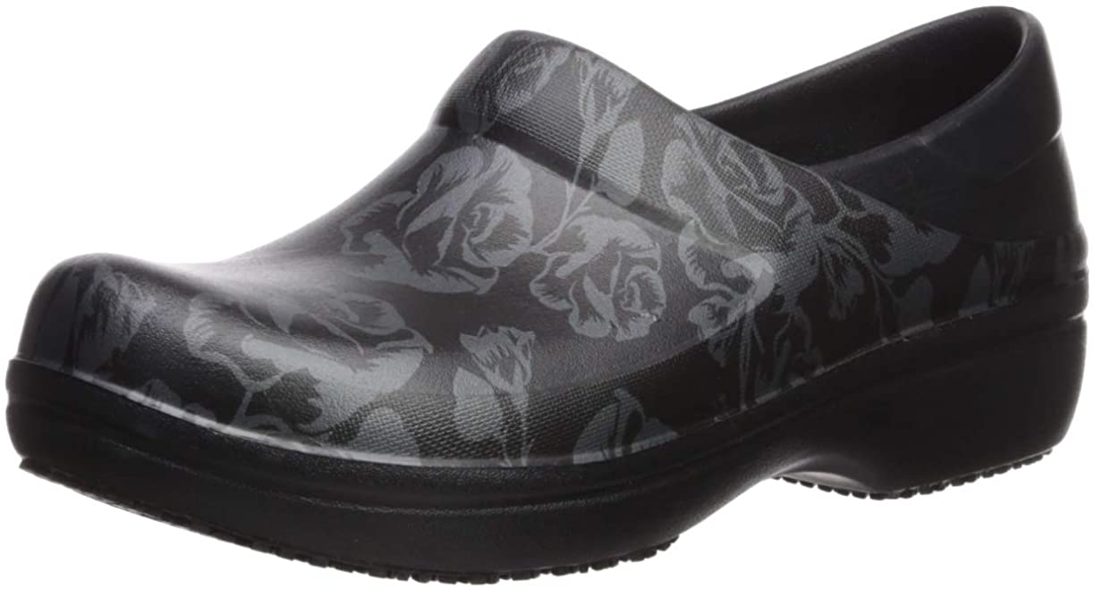 Crocs Women's Neria Pro Ii Clog | Slip-Resistant Work and Nursing Shoe