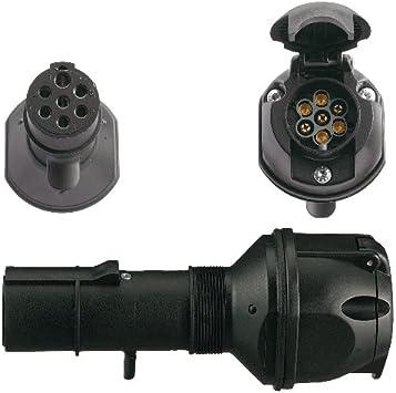 Spannungsreduzierung Adapter Lkw 7 Pol 24v Typ N Pkw 7 Pol 12v Auto
