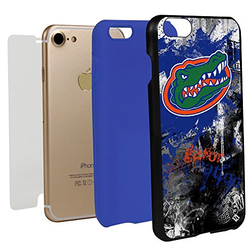 Guard Dog Florida Gators Paulson Designs Spirit Case for iPhone 7/8 with Guard Glass Screen Protector