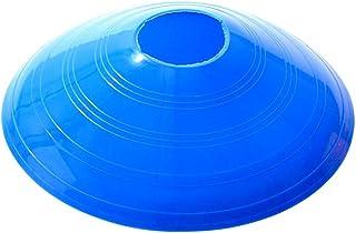 Vosarea 12PC Traning Disc Football Football Rugby Cônes Ronds Équipement Sportif pour Entraînement De Fitness (Bleu)