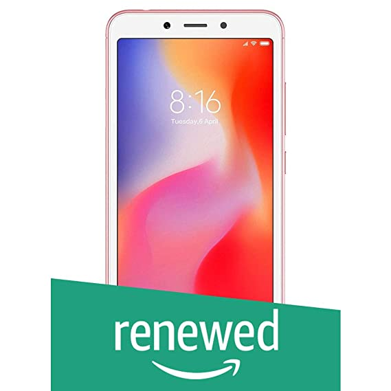 Renewed) Xiaomi Redmi 6A (Rose Gold, 32GB): Amazon in