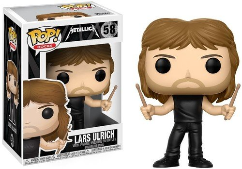 Funko Pop! Rocks: Metallica - Lars Ulrich Collectible Figure
