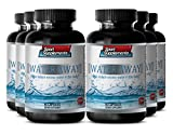 Weight loss diet pills - WATER AWAY NATURAL DIURETIC COMPLEX - Metabolism booster for weight loss - 6 Bottles 360 Capsules