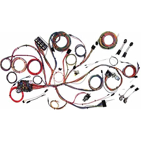 [SCHEMATICS_43NM]  Amazon.com: American Autowire 510125 Wiring Harness for Ford Mustang:  Automotive   1966 Ford Mustang Wiring Clip      Amazon.com