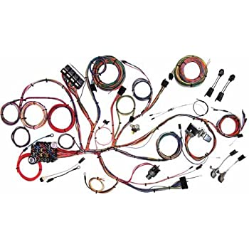 amazon com painless 60510 5 0l wiring harness automotive american autowire 510125 wiring harness for ford mustang