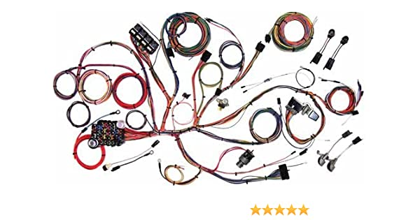 amazon com: american autowire 510125 wiring harness for ford mustang:  automotive