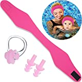 Blulu Swimming Headband Ear Headband Silicone Earplugs Nose Clip Plugs Ear Nose Protector