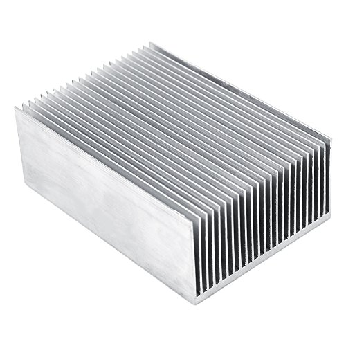 1 Set Aluminum Heat Sink Cooling Fin Cooler For Led Amplifier Transistor IC Module Or Computer,100(L)x 69(W) x 36 mm(H) by Hilitand (Image #5)