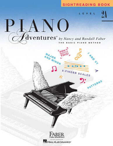 Download Level 2A - Sightreading Book: Piano Adventures PDF