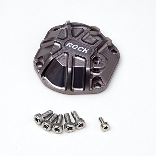 Gmade 30014 3D Machined Differential Cover for GS01 Axle, Titanium -