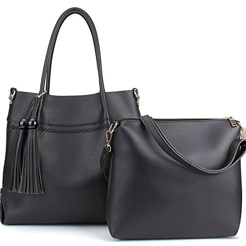 Handbags Leather Top Handle Tassels Shimu