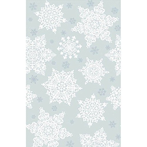 Amscan Shining Season Plastic Table Cover Christmas Party