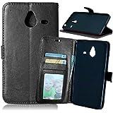 Microsoft Nokia Lumia 640 XL Phone Case + Free Charger Data Sync Cable, FUBAODA [Photo Frame] PU Leather Flip...
