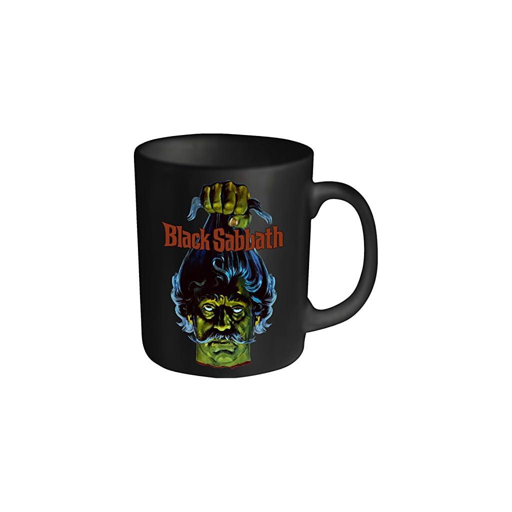 BLACK SABBATH–Taza plástico, color negro