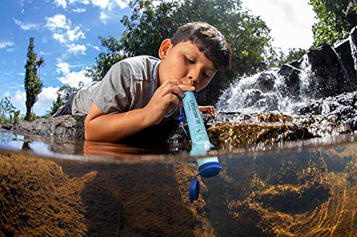 LifeStraw Personal Water Filter for Hiking Travel Camping and Emergency Preparedness