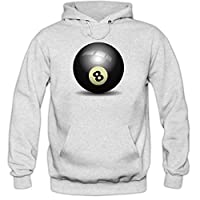 Billard Hoody | Schwarze Acht Hoodies | Poolbillard | Billardkugel | Snooker...