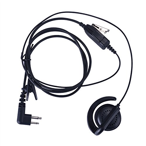 KEYBLU Flexible Ear Receiver Earpiece for Motorola Radio 2 ()