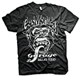 Officially Licensed Merchandise Gas Monkey Garage - Dallas Texas T-Shirt (Black), Medium