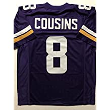 Unsigned Kirk Cousins Minnesota Purple Custom Stitched Football Jersey Size Men's XL New No Brands/Logos
