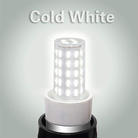 Bombillas campana extractora, PYJR E14 LED 5W equivalente incandescente de 50W, Blanco Frío 6000K 100-240V, pequeña y potente, 2 unidades: Amazon.es: Iluminación