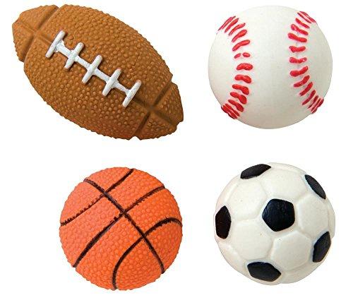 (Raymond Geddes Sports Ball Eraser, 48 Pack (68292) )