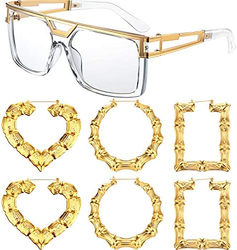 Hop Costume Rapper Sunglass Earings product image